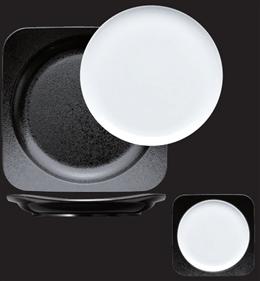 白磁丸皿セット