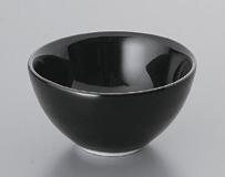 黒スワン丸碗(小)