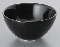 黒スワン丸碗(大)