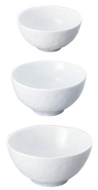 デューンズ(白磁)17.5cmマルチボール