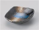 雲海角櫛目型取鉢