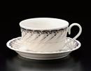 ブルーオルレアンティーC/S(碗と受け皿セット)