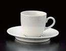 ベーシック粉引コーヒー碗皿(碗と受け皿セット)