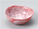 赤楽5.0変形鉢