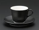 マーレコーヒーC/S ブラック(碗と受け皿セット)