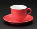 マーレコーヒー碗 レッド(碗のみ-受け皿なし)