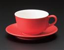 マーレカプチーノカップ レッド(碗のみ-受け皿なし)