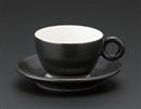 ブリオ(ブラック)コーヒー碗(碗のみ-受け皿なし)