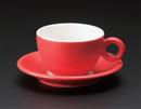 ブリオ(レッド)コーヒー碗(碗のみ-受け皿なし)