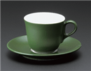 マーレコーヒー碗 グリーン(碗のみ-受け皿なし)