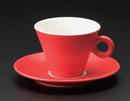 パレルモコーヒーC/S RD(碗と受け皿セット)