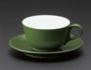 マーレカプチーノC/S グリーン(碗と受け皿セット)