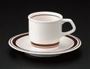 87182コーヒーC/S(碗と受け皿セット)