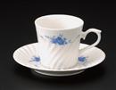 ブルーローズNBコーヒーC/S(碗と受け皿セット)
