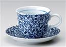 染付小紋コーヒー碗(碗のみ-受け皿なし)