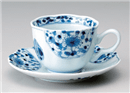 花伊万里コーヒー碗皿(碗と受け皿セット)