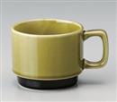 北欧グリーンコーヒー碗