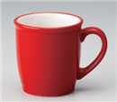 赤白ヌリ分マグカップ