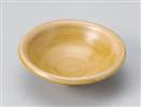 黄彩千筋丸中鉢