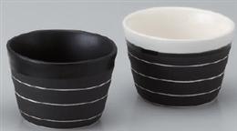 黒ラインミニカップ