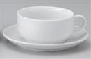 ポポラーレ片手スープC/S(カップと受け皿セット)
