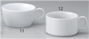 白磁切立スープカップ