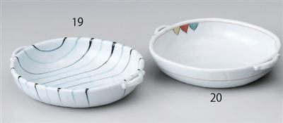 トライアングル手付多用鉢