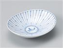 十草蘭楕円皿(中)