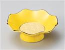 銀彩イエロー4.0高台小鉢