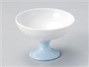 ブルー高台鉢