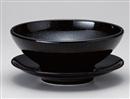 黒釉22㎝受皿