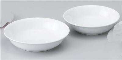 強化白18㎝深皿