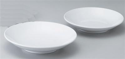 白8.0フカヒレ皿