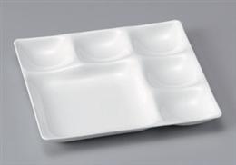 [TA]べガスプレート陶磁器調白