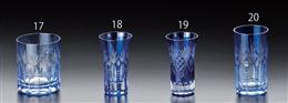 791121藍浪漫一口グラス