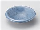 藍彩千筋丸小鉢