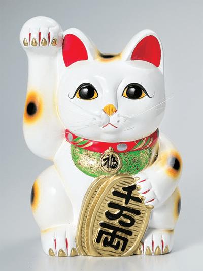 白手長小判猫13号(右手)