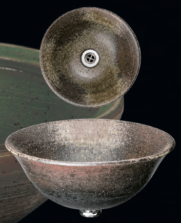 古陶手洗鉢