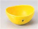 黄輝楕円小鉢(大)
