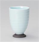 青磁高台フリーカップ