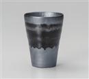 黒銀彩長フリーカップ
