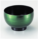 [TA]3.5寸ほてい汁椀 緑彩
