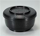 [TA](小)割子飯器 黒