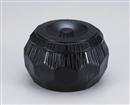 [A]錦亀甲飯器 黒