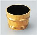 [A]樽型つゆ入れ 白木帯金