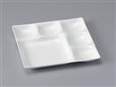 [TA]ベガスプレート 陶磁器調白