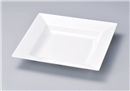 [M]正角鉢 白小 35cm