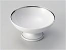 白磁プラチナ高台小鉢