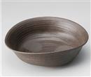 炭化土たわみ32㎝盛鉢