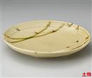 草紋織部10.0丸皿